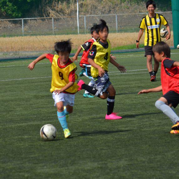 小学生サッカー教室&AED講習会の後援