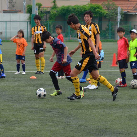 小学生サッカー教室&AED講習会